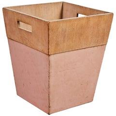 Usonian Waste Basket by Frank Lloyd Wright