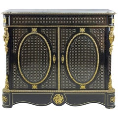 19th Century Louis XVI Style Side Cabinet