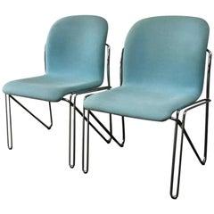 Pair of Danish Mid-Century Modern 1960s Labofa Office Chairs