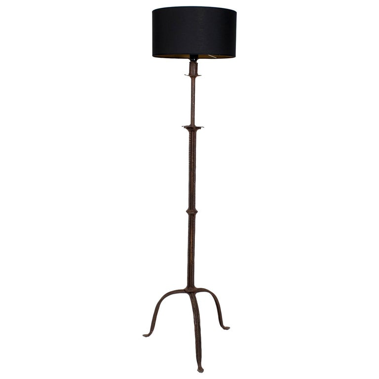 Wrought Iron Floor Lamps Awesome Spanish Wrought Iron Floor Lamp For Sale At 60stdibs