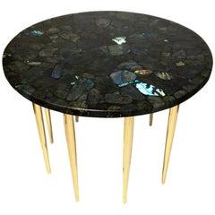 """""""Labradorite"""" Coffee Table by Studio Superego, Unique Piece, Italy"""