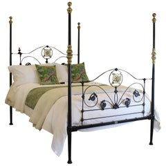 Four Poster Bed in Black, M4P26