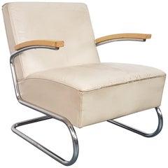 Vintage Thonet S411 Cantilever Armchair