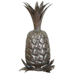 Continental Silver Plated Pineapple, 20th Century