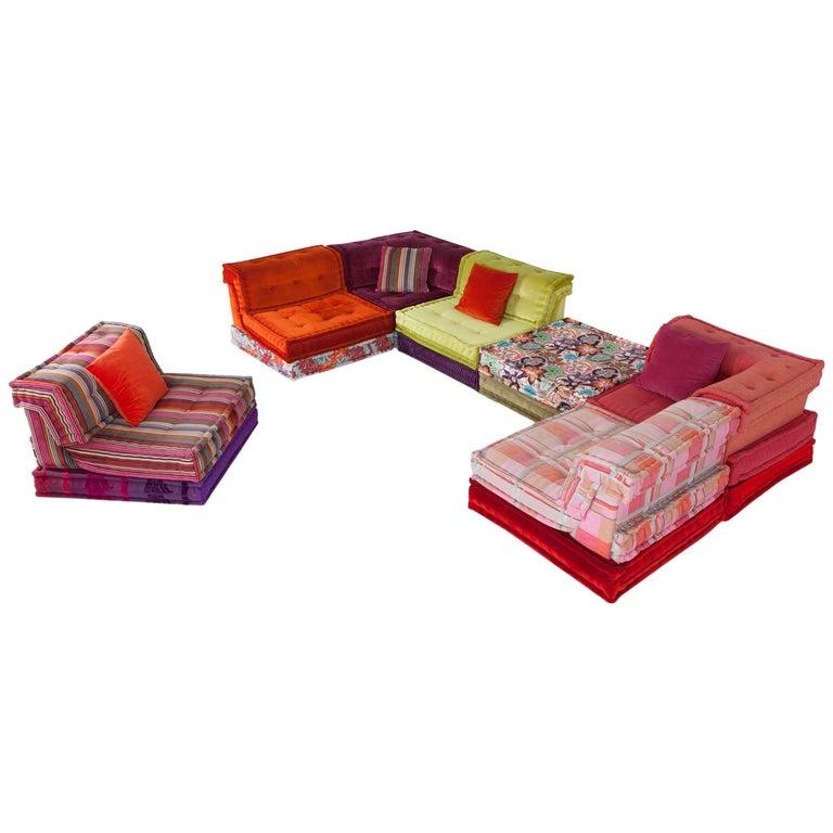 Mah Jong Modular Composition Sofa in Missoni Home for Roche Bobois For Sale