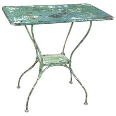 Antique Iron Garden, Cafe Table