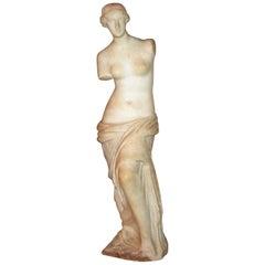 19th century Italian Marble Figurine of Venus De Milo