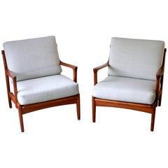 Set of Easy Chairs Model Kuba by Bertil Fridhagen for Bröderna Andersson