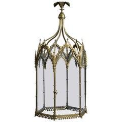Regency Gothic Lantern, circa 1820