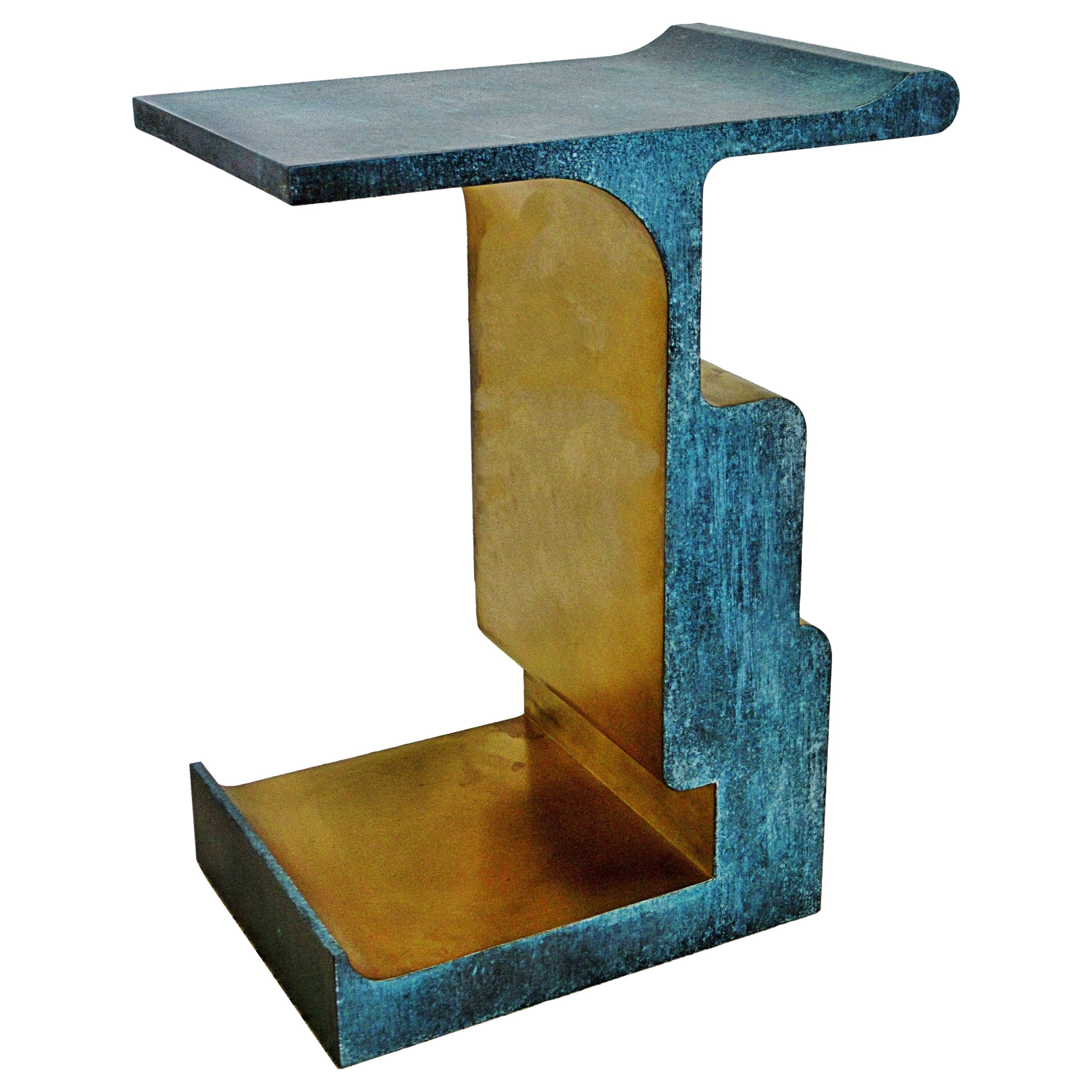 Rare Bronze and Patinated Bronze XiangSheng Table #1, Studio MVW