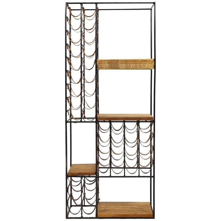 Arthur Umanoff Extra Large Wine Rack or Shelving Unit