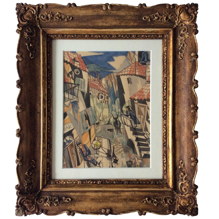 Cubistic Watercolor