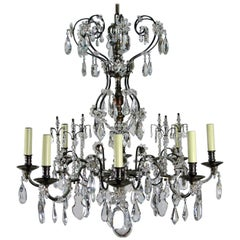 Late 20th Century Louis XV Style Chandelier