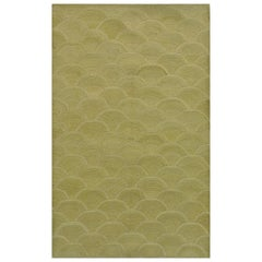 """Orley Shabahang Signature Collection """"Rice Paddy"""" Handmade, Contemporary Carpet"""