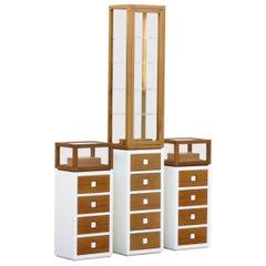 Set of 3 Missoni Retail Display Cabinets, Custom Made