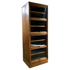 Details about Magnificent Courtney Pope Oak Display Cabinet Four Glazed Doors