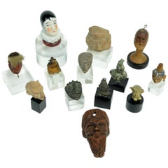 Collection of 13 Miniature Heads