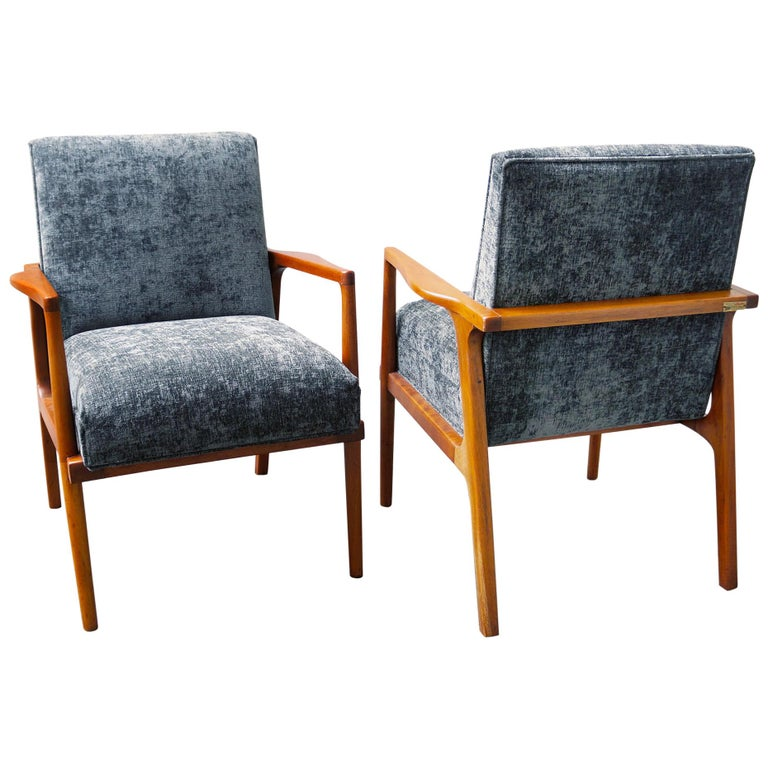 Pair of Lounge Chairs by Irgsa, Mexican Modernism, 1950s
