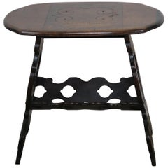 19th Century Spanish Walnut Oval Shaped Table
