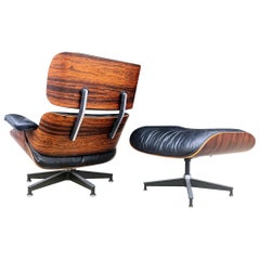 Incredible Herman Miller Eames Lounge Chair and Ottoman