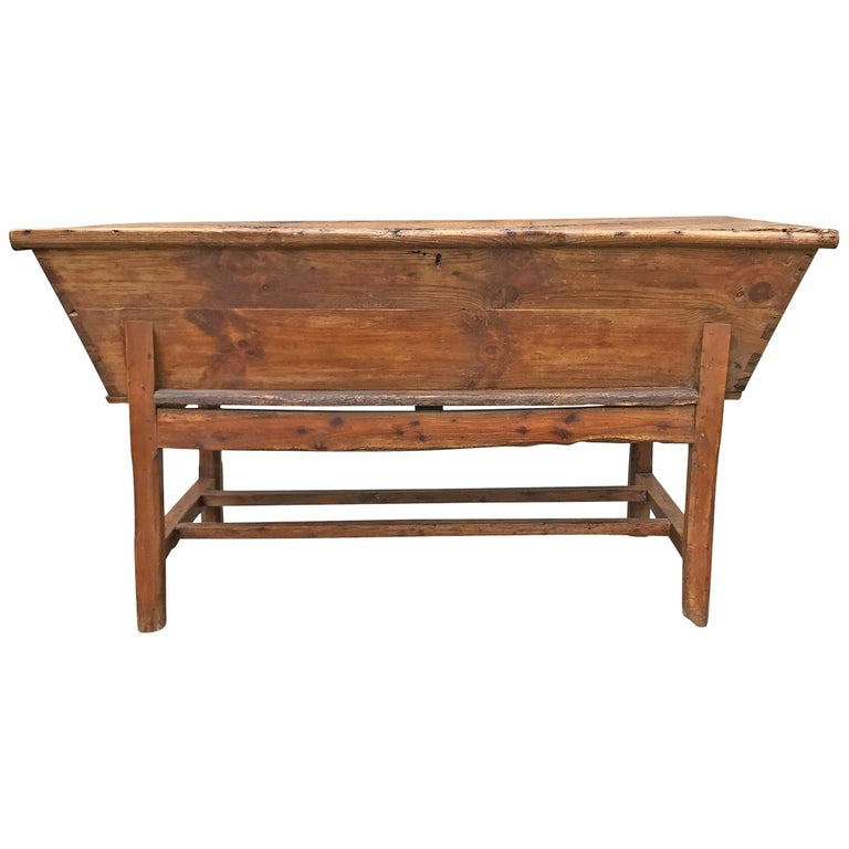 18th Century English Dough Proofing Table