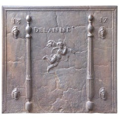 'Pillars with Phrygian Cap' Fireback, 19th Century
