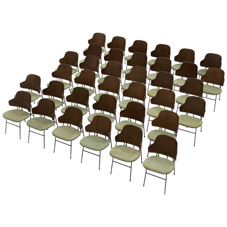 Ib Kofod-Larsen Extremely Large Set of Penguin Chairs