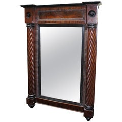 Antique William IV Rosewood Mirror