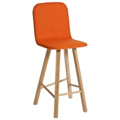 Tria Stool HB Fabric by Colé, Minimalist Design Icon Inspired to Graphic Art