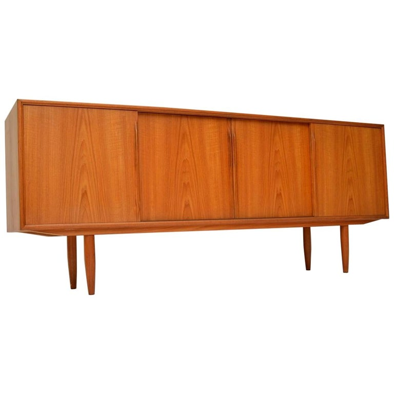 1960s Danish Vintage Teak Sideboard by Gunni Omann