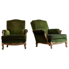 Large 19th Century French Armchairs