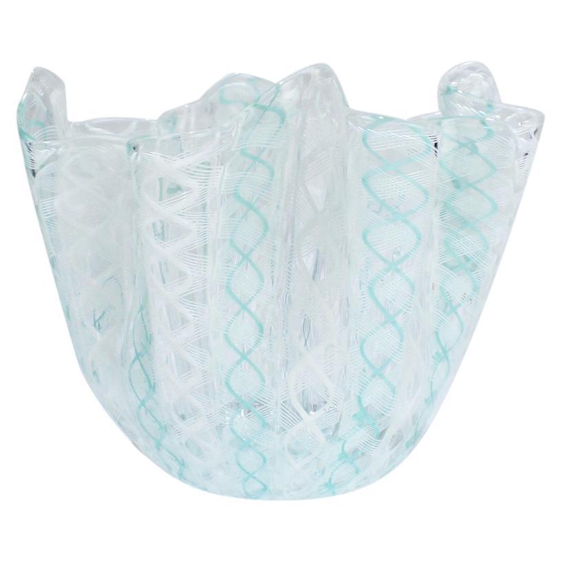 Fazzoletto Handkerchief Vase by Fulvio Bianconi & Paolo Venini for Venini Glass