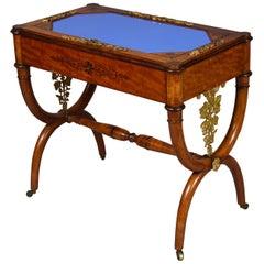 Charles X Amaranthe and Lemonwood Table