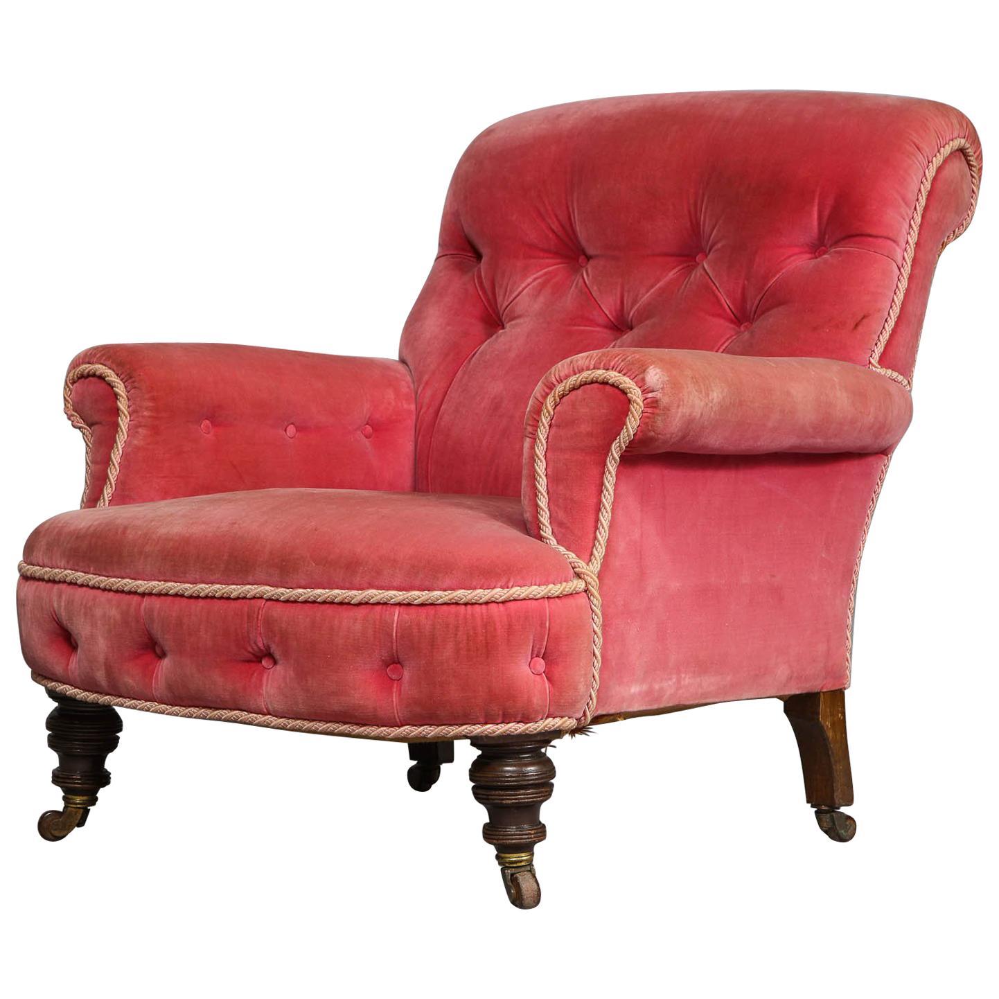Merveilleux English Club Chair