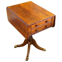 Regency Mahogany Work Table