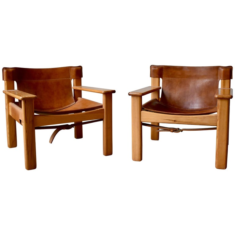Pair of Natura Easy Chairs by Karin Mobring for Ikea, 1970s