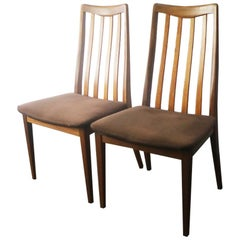 Set of Six 1970s Midcentury G-Plan Dining Chairs