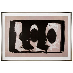 Robert Motherwell, Elegy Study I, Large-Scale Lithograph in Colors