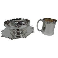 Victorian Serveware, Ceramics, Silver and Glass