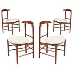 Greta M. Grossman Walnut Dining Chairs for Glenn of California