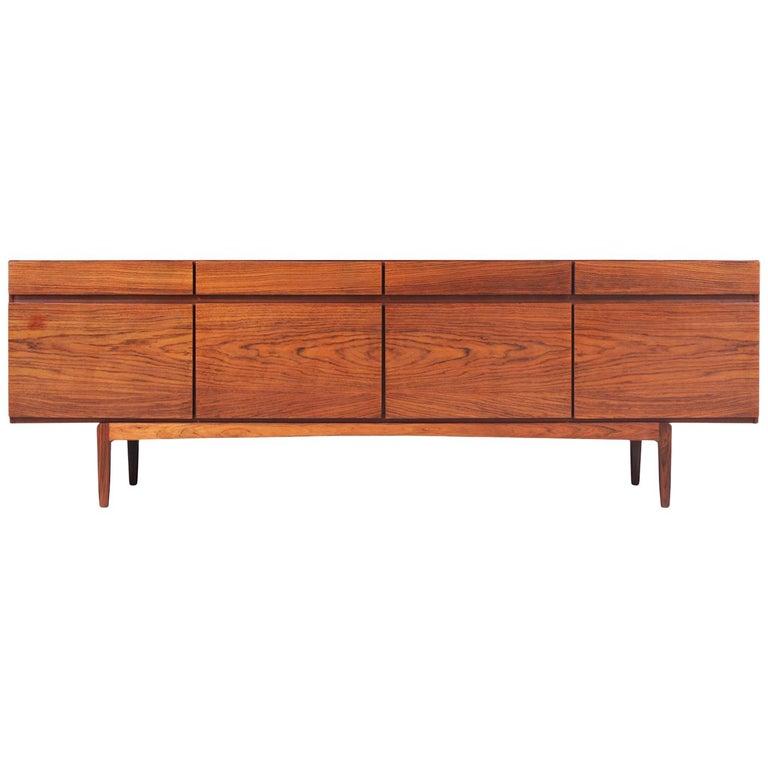 Ib Kofod-Larsen Model-66 Rosewood Credenza for Faarup Møbelfabrik