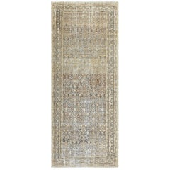 Antique Persian Shabby Chic Malayer Wide Hallway Gallery Rug