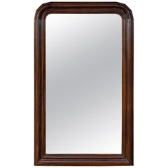 Antique Wood Frame Louis Philippe Mirror found in France