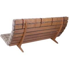 Erik Ole Jorgensen Oak and Upholstered Bench or Sofa