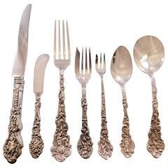 Versailles by Gorham Sterling Silver Flatware Service 12 Set 93 Pieces Dinner