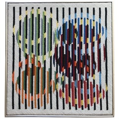 Optical Fiber Art Wall Hanging