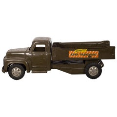 "Die Cast Steel Toy Truck ""Buddy L Army Transport"", circa 1940"