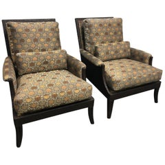 Pair of McGuire Lounge Chairs