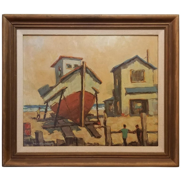 Fred Korburg Nautical Painting
