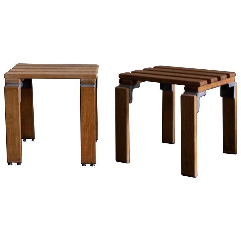 Stools by Georges Candilis and Anja Bromstedt For Sale